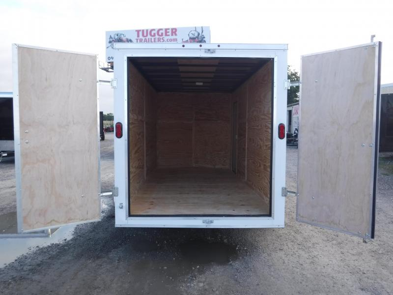 2019 T-Series 7 x 16 Enclosed Cargo Trailer Motorcycle Car hauler Trailers