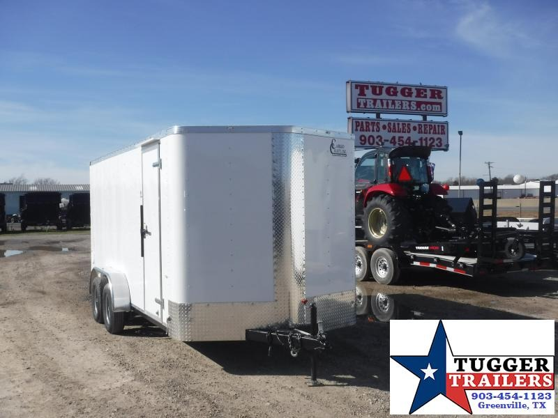 2019 Cargo Craft Trailers 7X16 EV-7182 Enclosed Cargo Trailer