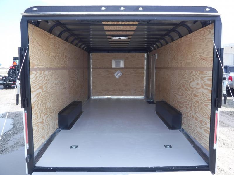 2019 Cargo Craft 8.5x20 20ft Auto White 2019 Ramp Car / Racing Trailer