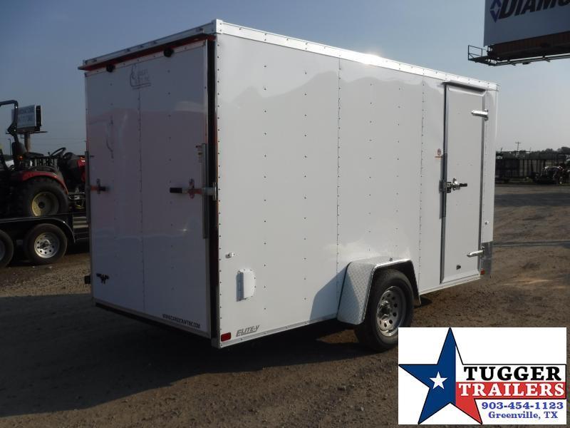 2019 Cargo Craft 6X12 12ft Elite Plus 2' V-Nose Ramp Enclosed Cargo Trailer