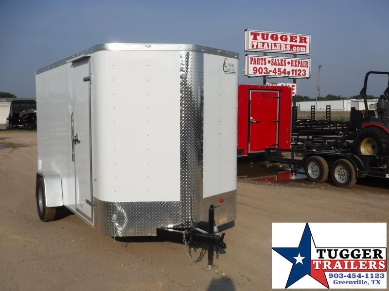 2019 Cargo Craft 6X12 12ft Elite Plus 2' V-Nose Ramp Enclosed Cargo Trailer
