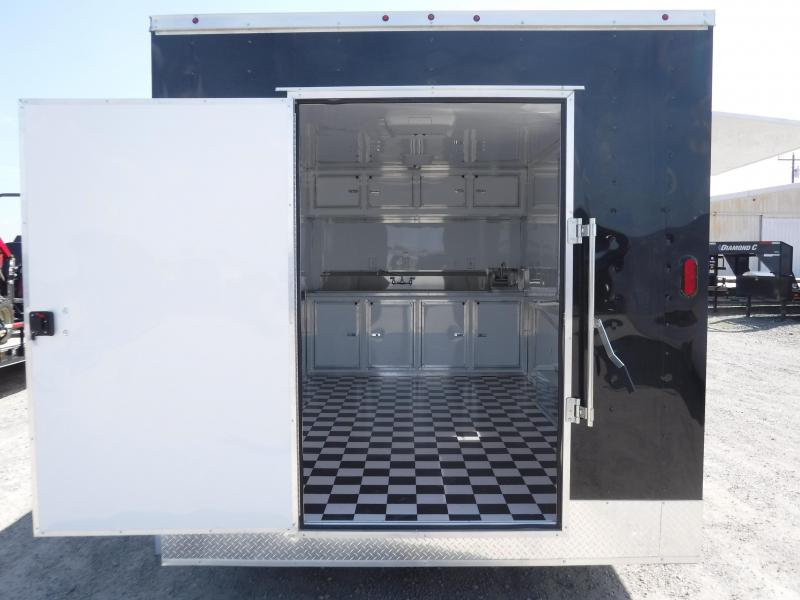 2018 T-Series Trailers 8.5x16  Vending / Concession Trailer