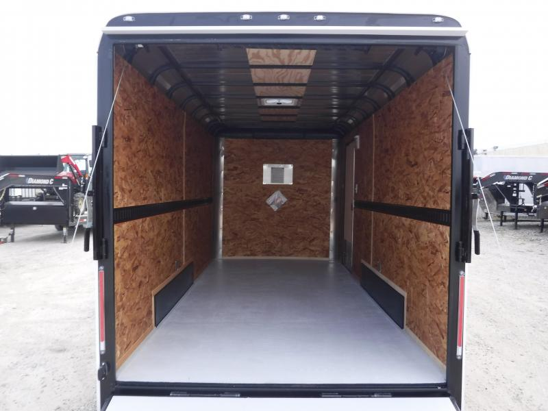 2018 Cargo Craft 7x16 Elite Flat Nose Enclosed Cargo Trailer