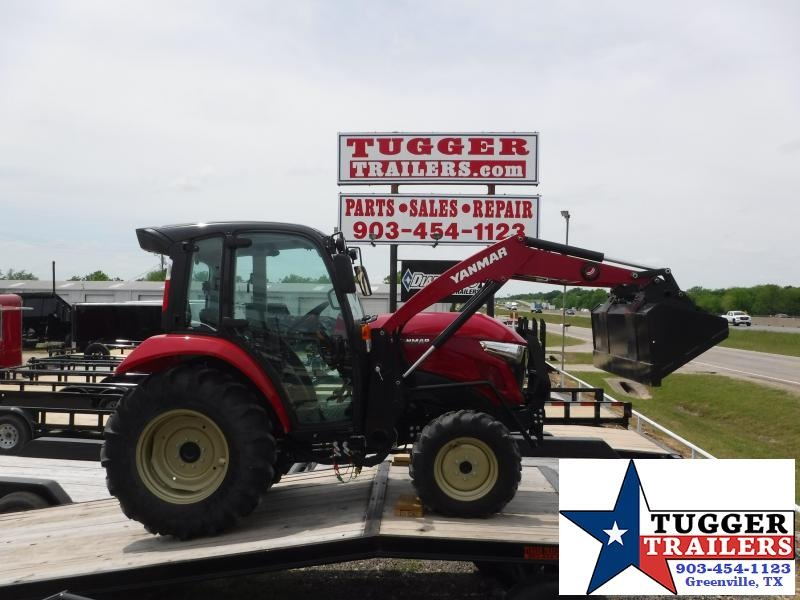 2018 Yanmar USA YT 359 Tractor Loader and Cab with AC!