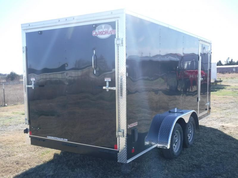 2018 Cargo Mate 7 x 16 E- Series Enclosed Cargo Trailer