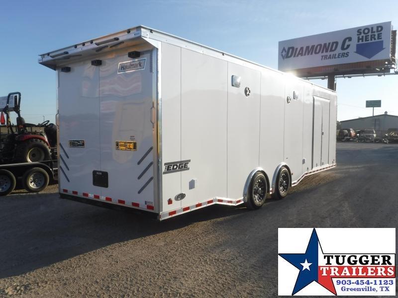 2019 Haulmark 8.5x28 28ft Edge Cargo Enclosed Car / Racing Trailer
