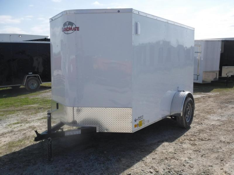2019 Cargo Mate 6x10 TX LE Enclosed Cargo Trailer