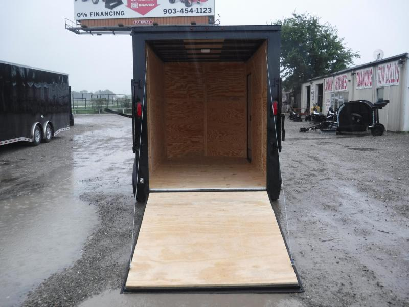 2019 T-Series Trailer 6 x 12 20135 Enclosed Cargo Trailers