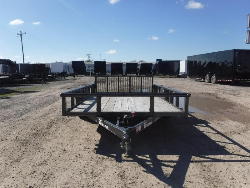 2018 TexLine 77x12 Stealth Utility Trailer