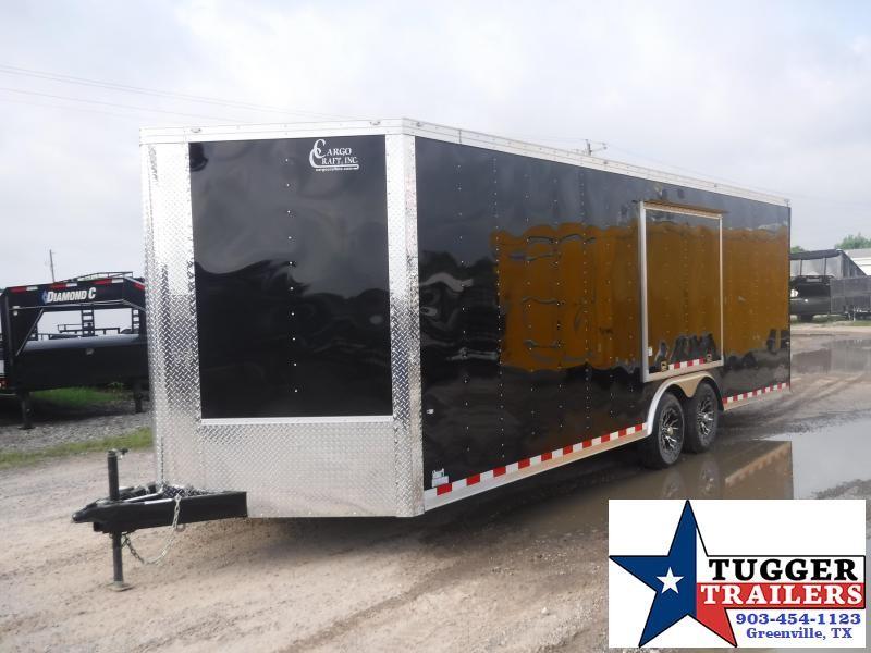 2019 Cargo Craft 8.5x27 27ft Auto Mobile Enclosed Cargo Car / Racing Trailer