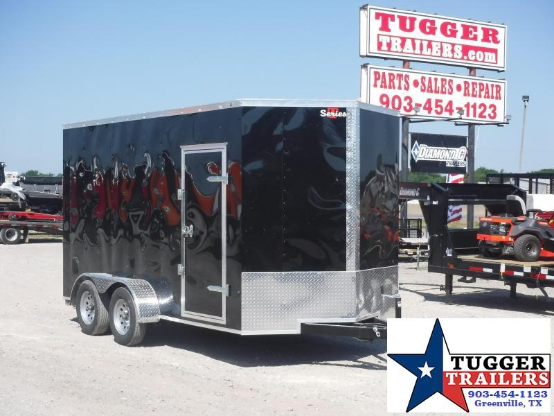 2019 T-Series 7 x 14 T-Series Trailer Enclosed Cargo Trailers