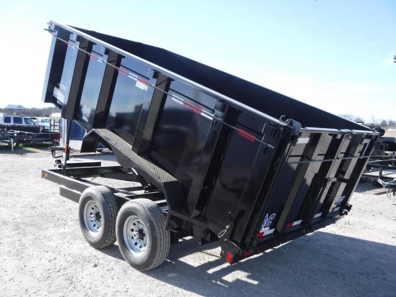 "2018 Diamond C Trailers 82"" x 14' 21WD Dump Trailer"