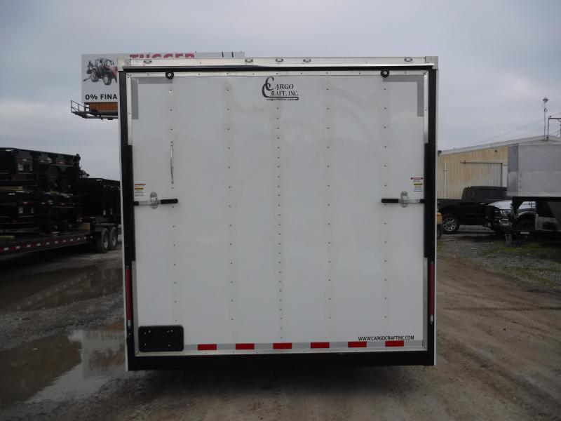 2019 Cargo Craft 8.5x32 32ft Gooseneck White 2019 Ramp Enclosed Cargo Trailer