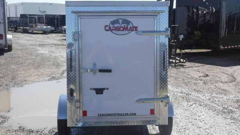 2019 Cargo Mate 4x6 E-Series Enclosed Cargo Trailer