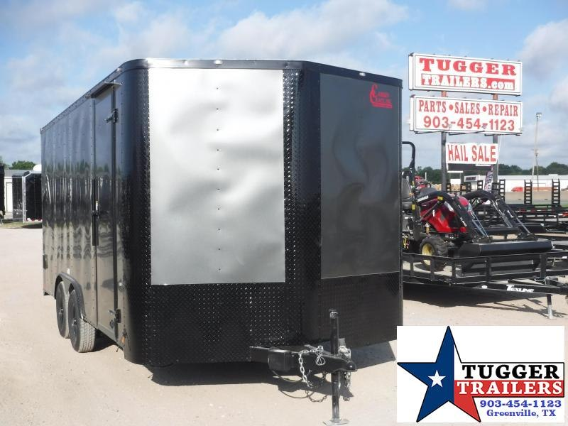 2019 Cargo Craft 8.5x16 16ft Blackout Ramp Enclosed Cargo Trailer