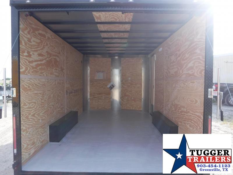 2019 Cargo Craft 8.5x16 16ft Blackout Ramp Enclosed Cargo Trailer