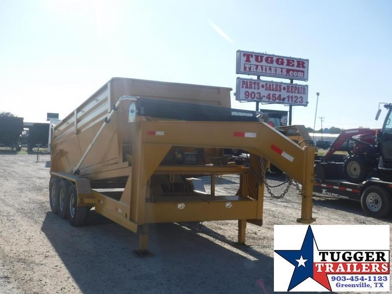 2018 16ft T-Series Roll Off Dump Trailer Dump Trailers