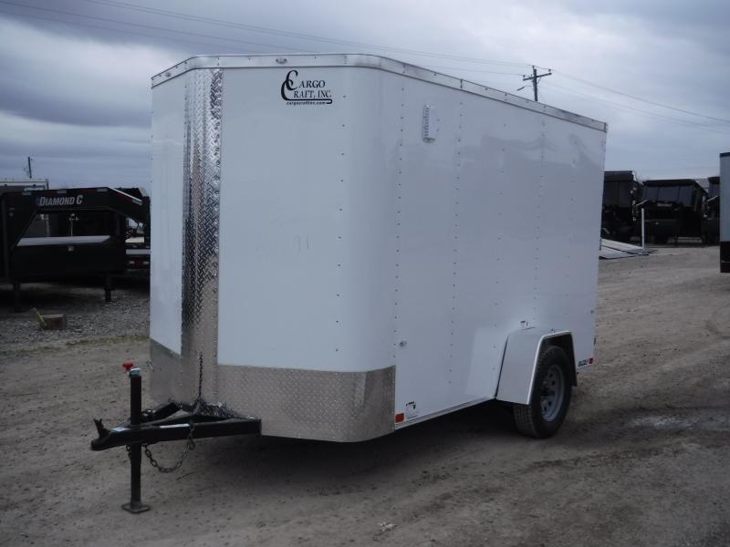 2019 Cargo Craft 6x10 10ft Elite Plus 2ft V-Nose Enclosed Cargo Trailer