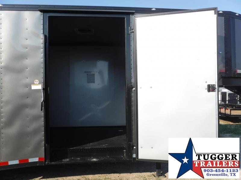 2019 Cargo Craft 8.5x32 32ft Gooseneck Blackout Ramp Enclosed Cargo Trailer