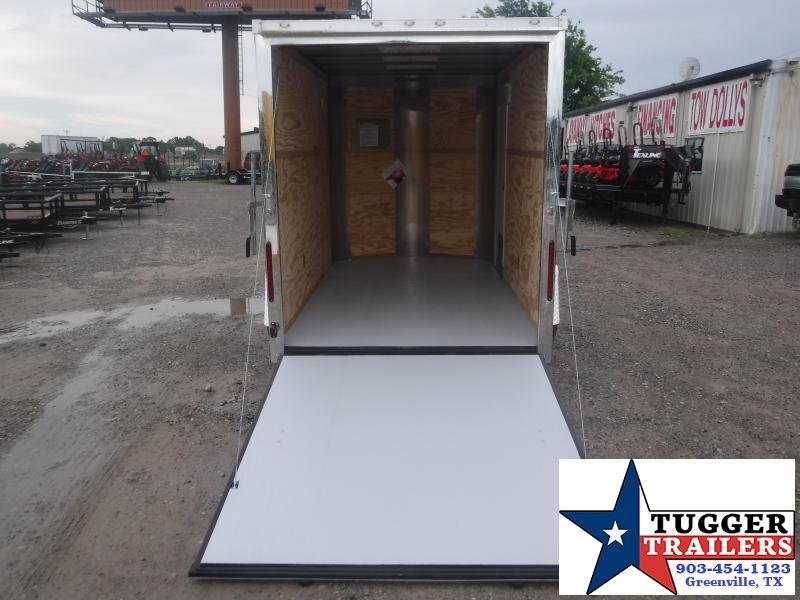 2019 Cargo Craft 6x10 10ft Plus 2 V-Nose Ramp Enclosed Cargo Trailer