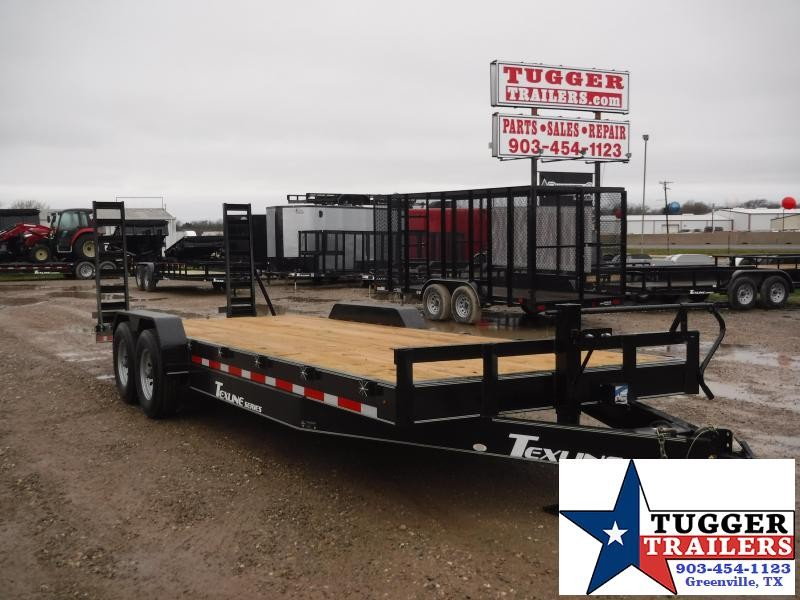2019 TexLine 83x24 24ft Utility Trailer