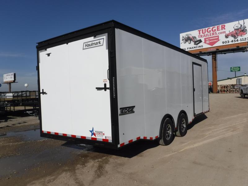 2019 Haulmark 8.5 X 24 Edge Black Out Enclosed Cargo Trailer
