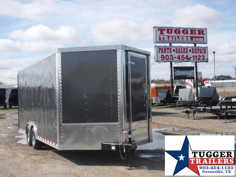 2019 Cargo Craft Trailers 8.5 x 23 V Nose Enclosed Cargo Trailer
