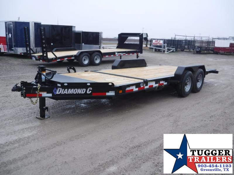 2019 Diamond C Trailers 82x20 20ft Tilt Utility HDT Flatbed Trailer