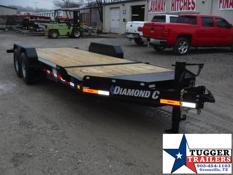 2019 Diamond C Trailers 82x20 20ft Tilt Utility HDT Flatbed Trailer