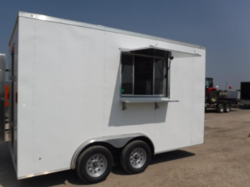 2019 T-Series 8.5 x 14 Concession Vending / Concession Trailer