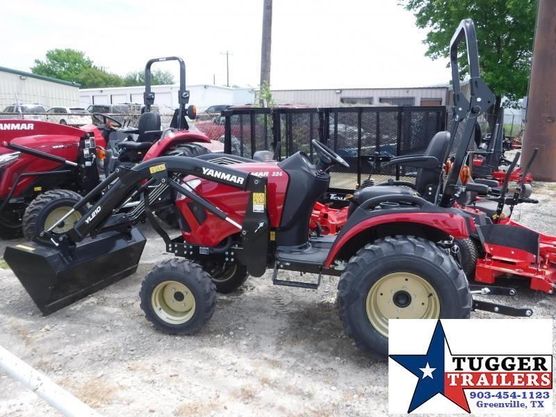 2018 Yanmar 4x4 SA 324 Tractor and Loader!