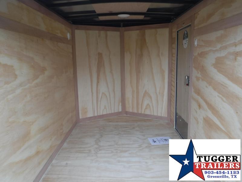 2019 HAIL SALE! Cargo Mate 5x8 8ft E-V White Double Door Enclosed Cargo Trailer