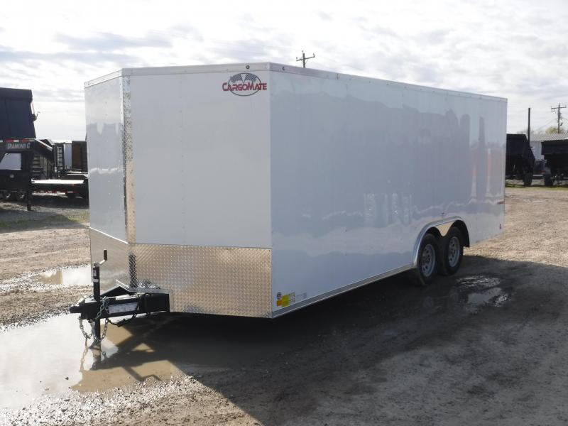 2019 Cargo Mate Trailers 8.5 x 20 E-Series Enclosed Cargo Trailer