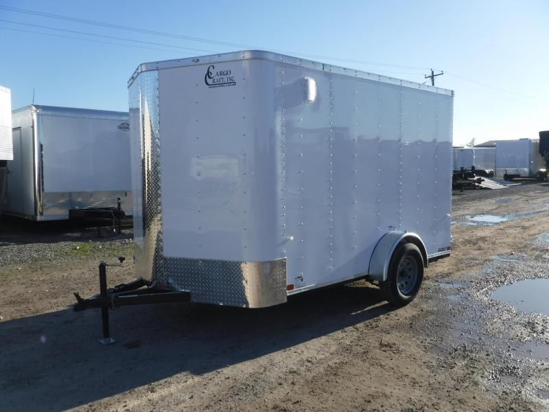 2019 Cargo Craft 7x10 10ft Elite Plus 2 V-Nose Enclosed Cargo Trailer