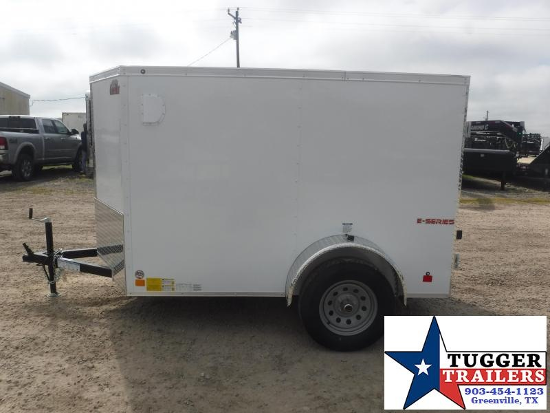 2020 Cargo Mate 5x8 8ft Double Door Single Axle Enclosed Cargo Trailer