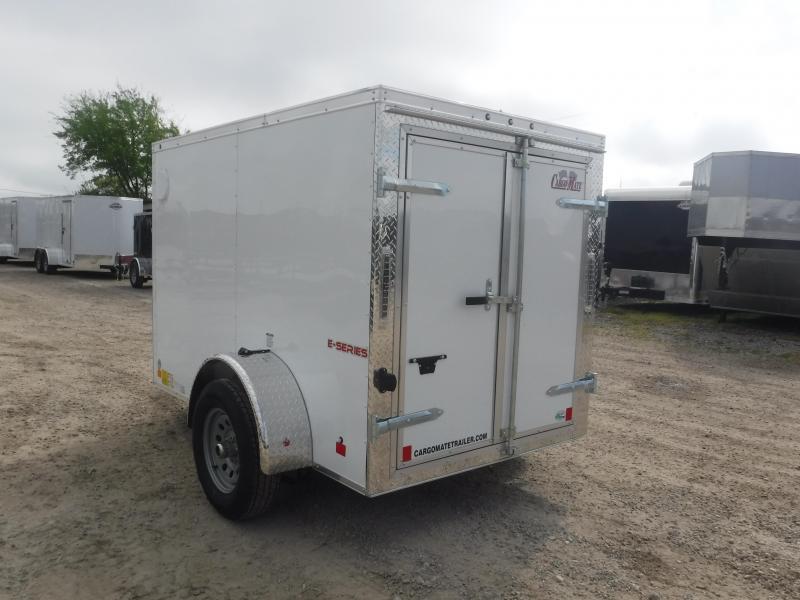 2020 Cargo Mate 5x8 8ft Double Door Single Axle Enclosed Cargo Trailer
