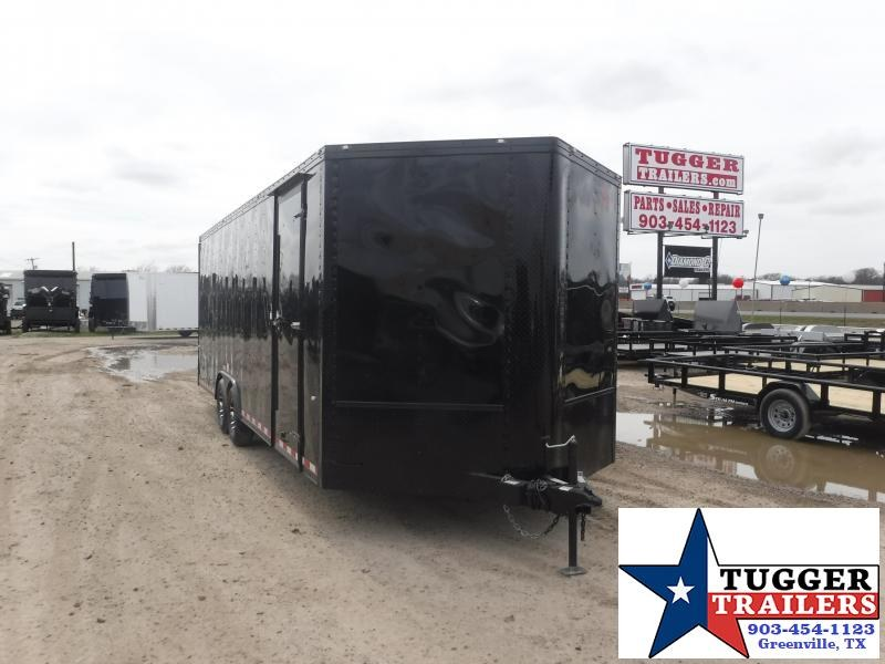 2019 Cargo Craft 8.5x27 27ft Enclosed Auto Race Hauler Black-Out Car / Racing Trailer
