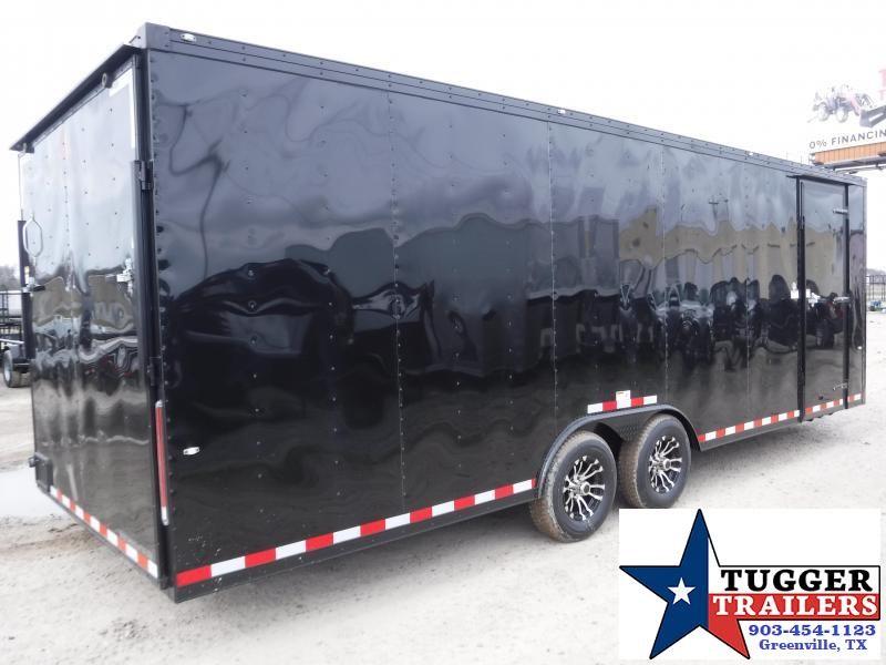 2019 Cargo Craft 8.5x27 27ft Enclosed Auto Race Hauler Black-Out Car / Racing Trailer