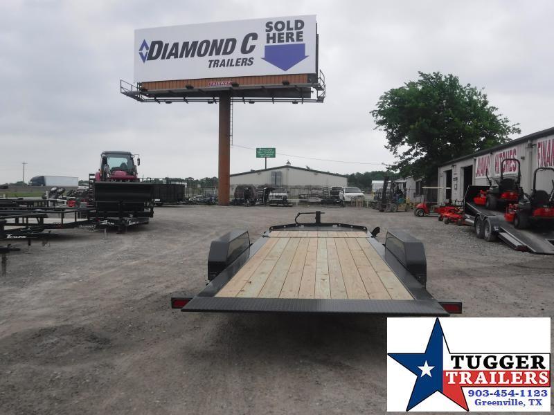 2019 Diamond C Trailers 82x20 20ft HDT Tilt Utility Flatbed Trailer
