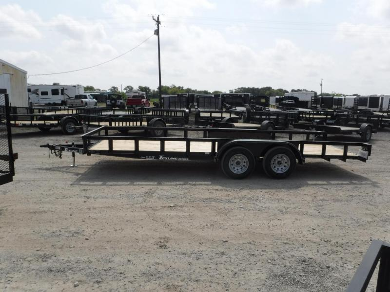2018 Texline Trailers 83 x 20 Texline TA Equipment Trailer