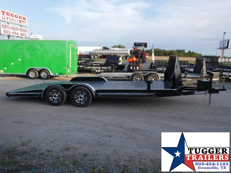 2020 Diamond C Trailers 83x20 20ft CHS Auto Mobile Steel Flatbed Car / Racing Trailer