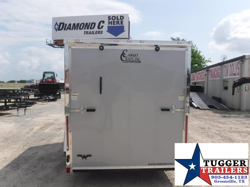 2019 Cargo Craft 6x10 10ft Elite Plus 2 V-Nose Diamond Ice Enclosed Cargo Trailer