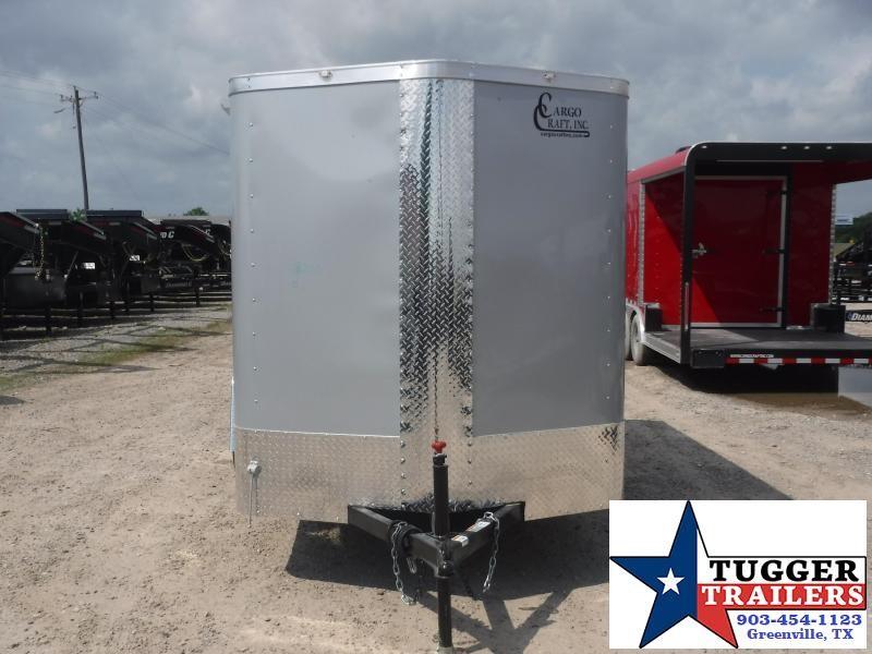 2019 Cargo Craft 6x10 10ft Elite Plus 2 V-Nose Diamond Ice Enclosed Cargo Trailer