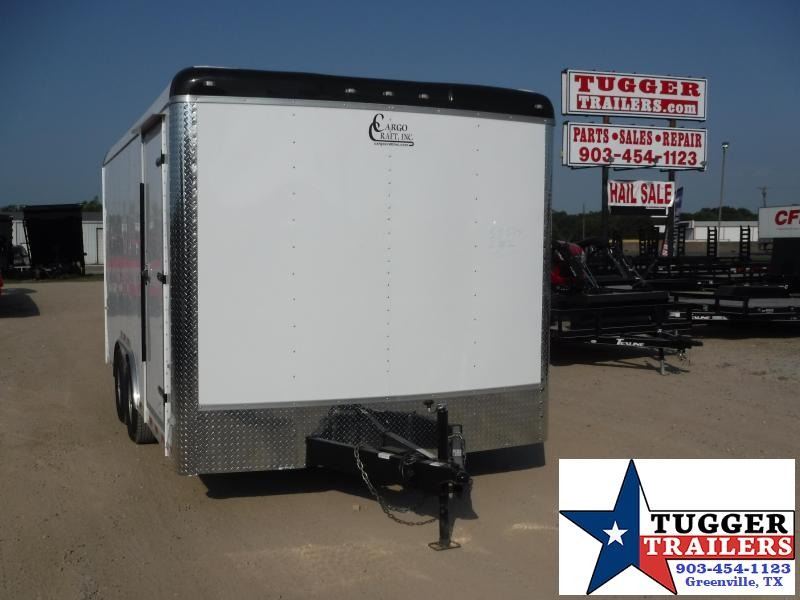 2019 Cargo Craft 8.5x16 16ft Expedition Ramp Enclosed Cargo Trailer