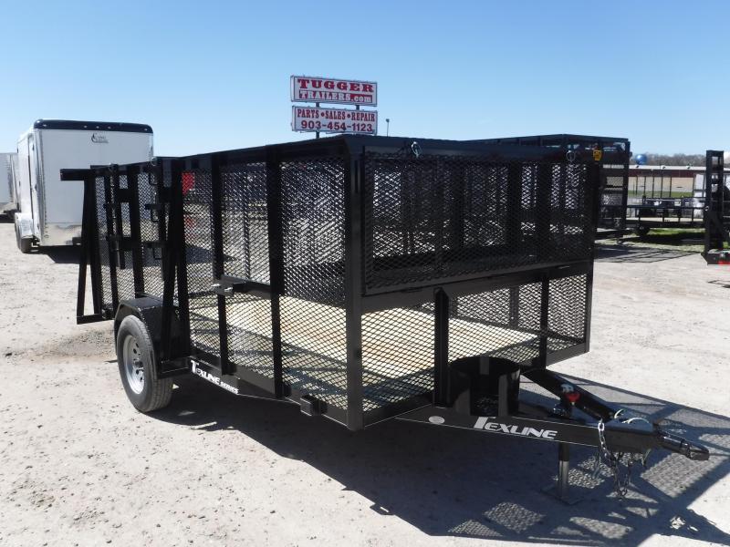 2019 TexLine 77x12 12ft Landscape Lawn Mower Equipment Trailer