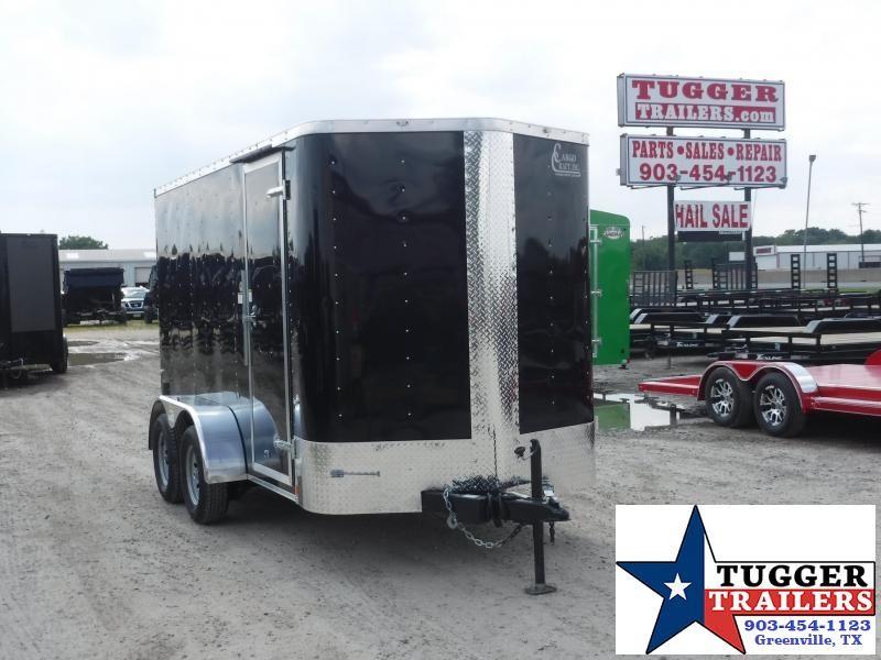 2020 Cargo Craft 6x12 12ft Ramp Enclosed Cargo Trailer