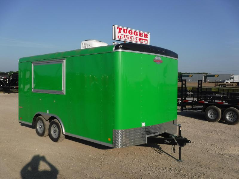 2018 Cargo Mate 8.5x16 Blazer Vending / Concession Trailer