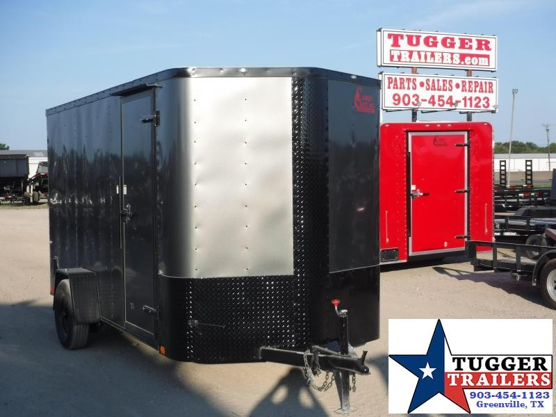 2019 Cargo Craft 6x12 12ft Elite Plus 2' V Nose Enclosed Cargo Trailer