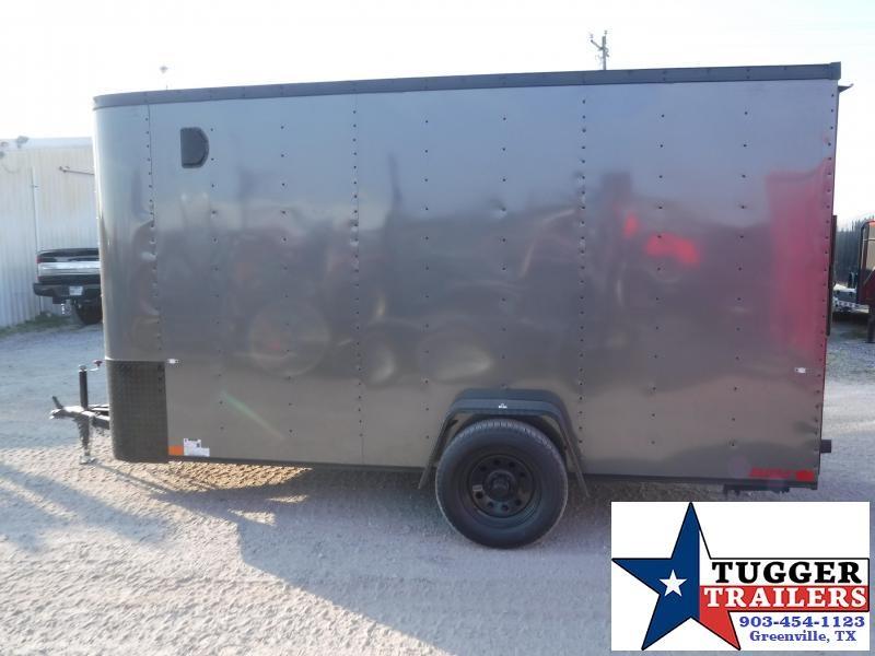 2019 Cargo Craft 6x12 12ft Elite Plus 2' V Nose Enclosed Cargo Trailer