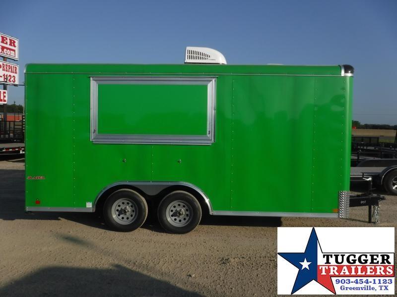 2019 Cargo Mate 8.5x16 16ft Street Food BBQ Taco Snow Cone Vending / Concession Trailer